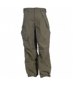 Sessions Infantry Snowboard Pants Drab Green