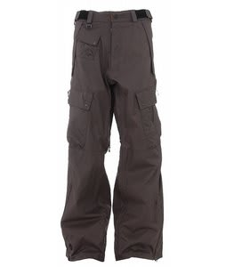 Sessions Movement Snowboard Pants Gunmetal Houndstooth