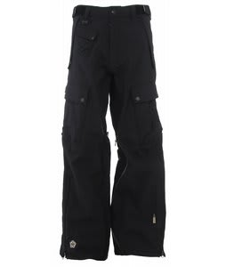 Sessions Movement Snowboard Pants Black Magic