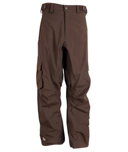 Sessions Parachute Snowboard Pants Brown