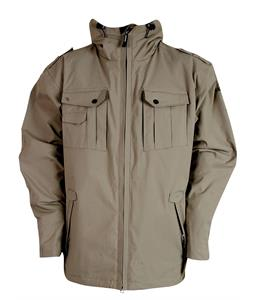 Sessions Valor Snowboard Jacket Khaki