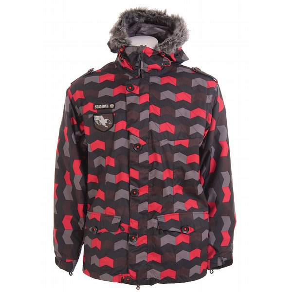 Sessions Recon Zig Zag Snowboard Jacket