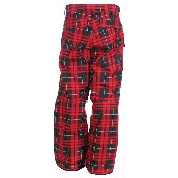Plaid Snowboard Pants