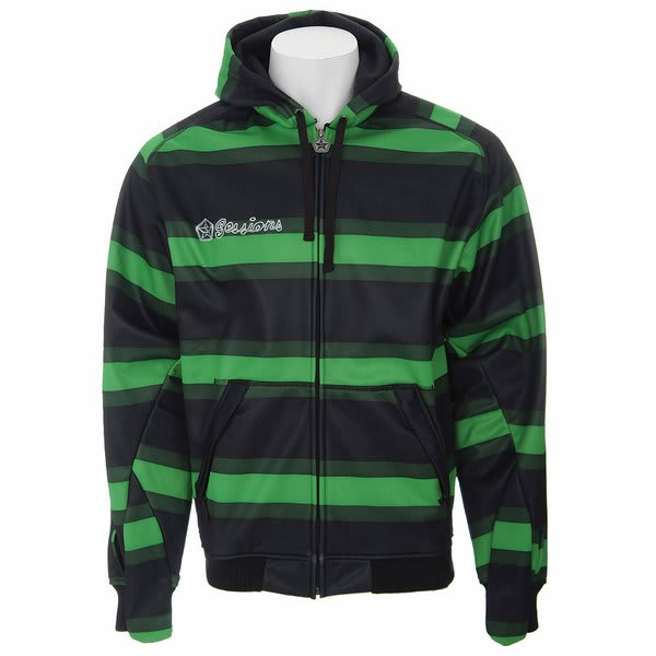 Sessions Stripe Softshell Jacket