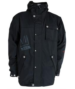 Sessions TJ's Limited Snowboard Jacket Black Magic