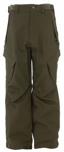Sessions Zoom Snowboard Pants Fatigue Green