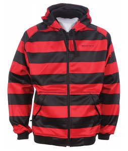On Sale Sessions Zoom Striped Softshell Hoodie up to 70% off