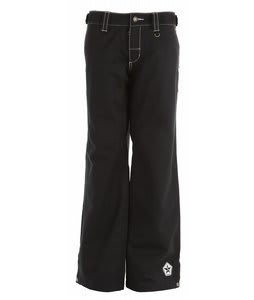 Sessions Chase Snowboard Pants Black