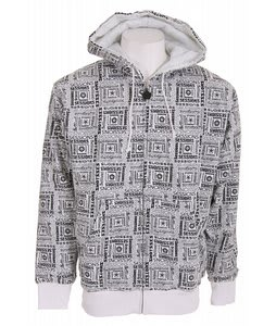 Sessions Boss Zip Hoodie Studio White