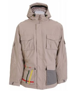 Sessions Bozung Snowboard Jacket Desert Khaki