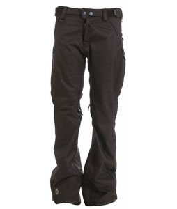 Sessions Brawl II Snowboard Pants Brown Heather