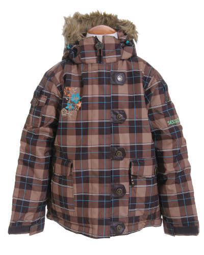 Sessions Bunny Ski Jacket Desert Avery Plaid