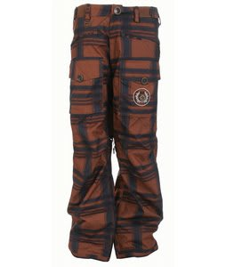 Sessions Fireball Snowboard Pants Sargent Maxx Plaid