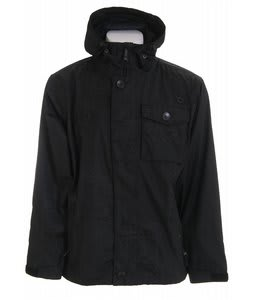 Sessions Flicker Snowboard Jacket Black Jacquard