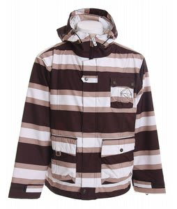 Sessions Foxtrot Stripe Snowboard Jacket