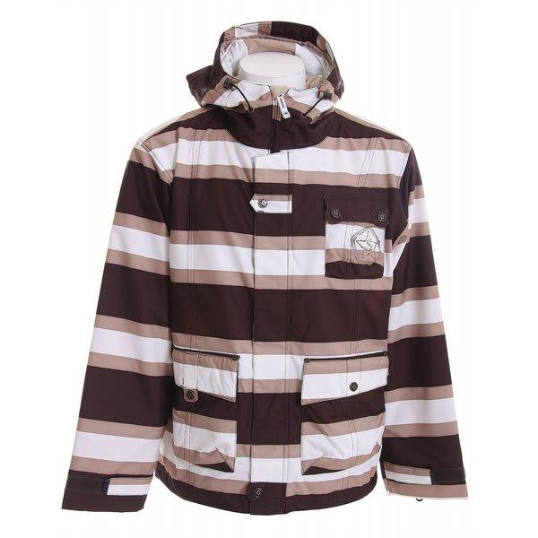 Sessions Foxtrot Stripe Snowboard Jacket