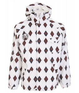 Sessions Istodis Snowboard Jacket White Stargyle