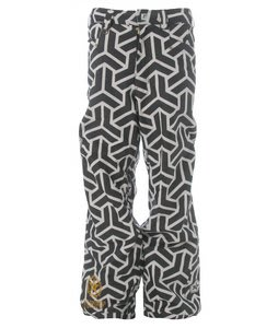 Sessions Neff Print Snowboard Pants White/Black