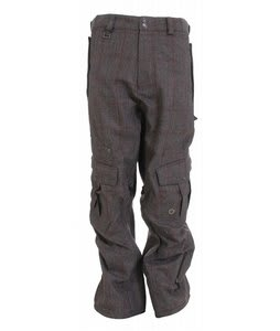 Sessions Serenity Snowboard Pants Java/Red Window Pld