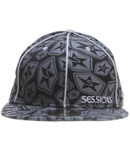 Sessions Swirled Stars New Era Cap Black Magic