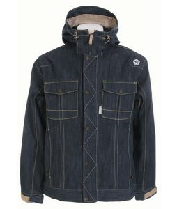 Sessions Tombstone Le Snowboard Jacket Shadow Denim