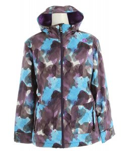 Sessions Jane Watercolor Snowboard Jacket Purple Watercolor