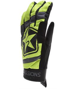 Sessions 4Star Gloves Lime
