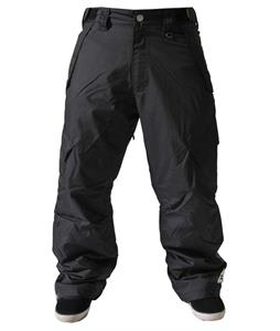 Sessions Achilles Insulated Snowboard Pants Black