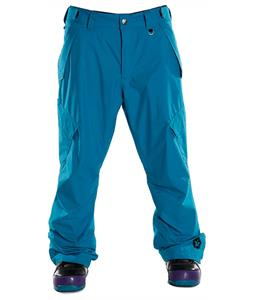 Sessions Achilles Insulated Snowboard Pants Bright Blue