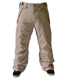 Sessions Achilles Insulated Snowboard Pants Khaki
