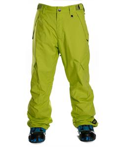 Sessions Achilles Insulated Snowboard Pants Lime