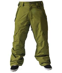 Sessions Achilles Insulated Snowboard Pants Olive