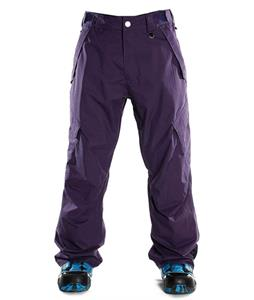 Sessions Achilles Insulated Snowboard Pants Purple