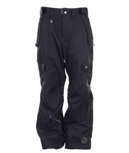 Sessions Achilles Snowboard Pants Black Magic