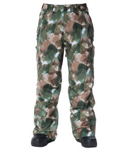 Sessions Achilles Camo Snowboard Pants Camo Water