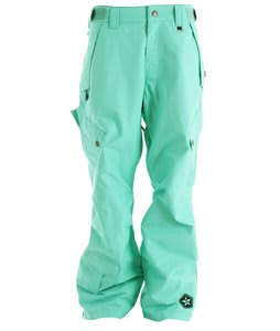 Sessions Achilles Snowboard Pants Mint Green