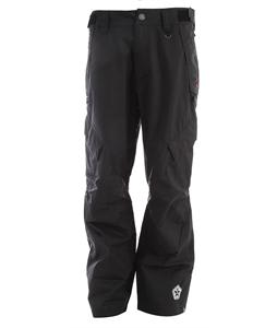 Sessions Achilles Shell Snowboard Pants Black