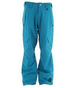 Sessions Achilles Shell Snowboard Pants Bright Blue 