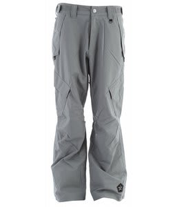 Sessions Achilles Shell Snowboard Pants Grey 