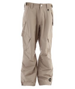 Sessions Achilles Shell Snowboard Pants Khaki 