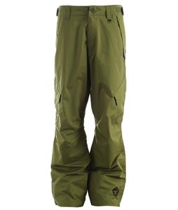 Sessions Achilles Shell Snowboard Pants Olive