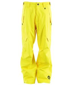 Sessions Achilles Shell Snowboard Pants Yellow