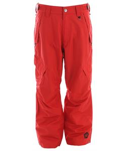 Sessions Achilles Shell Snowboard Pants Red