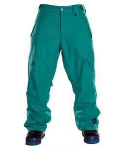 Sessions Achilles Shell Snowboard Pants Teal