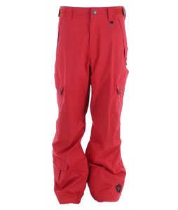 Sessions Achilles Snowboard Pants Red