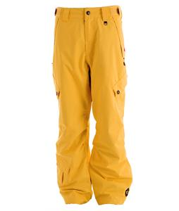 Sessions Achilles Snowboard Pants Yellow