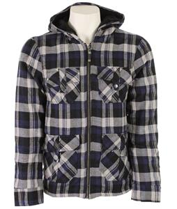 Sessions Adlan Jacket Blue Plaid