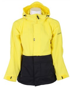 Sessions Anoracket Snowboard Jacket Citron/Black