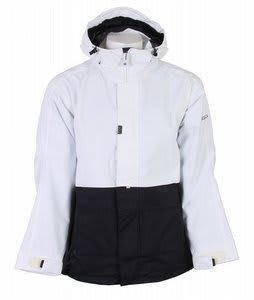 Sessions Anoracket Snowboard Jacket White/Black