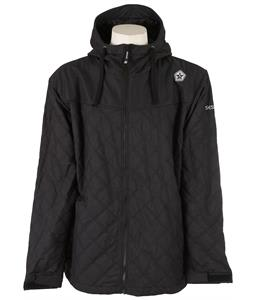 Sessions Backcountry Snowboard Jacket Black